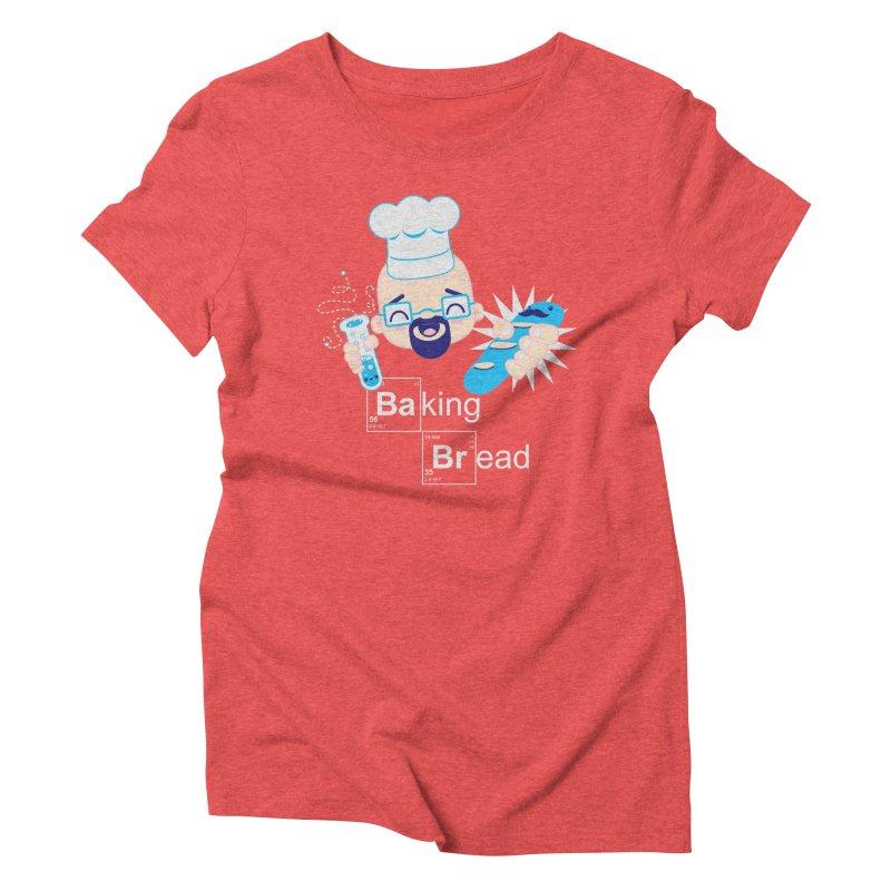 Baking Bread Women's Triblend T-shirt by darkchoocoolat's Artist Shop