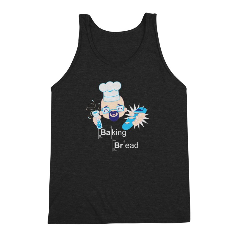 Baking Bread Men's Triblend Tank by darkchoocoolat's Artist Shop