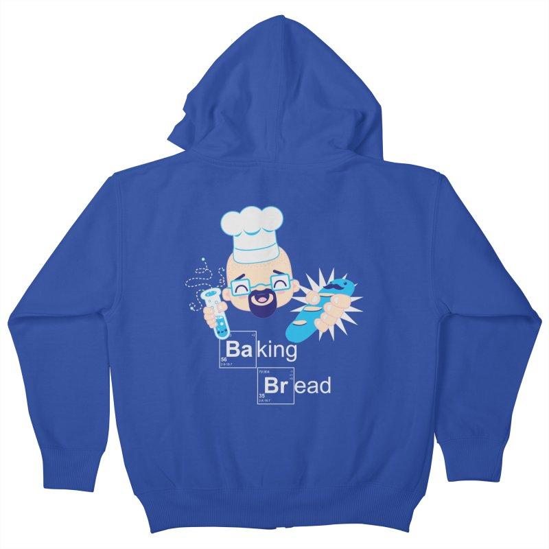Baking Bread Kids Zip-Up Hoody by darkchoocoolat's Artist Shop