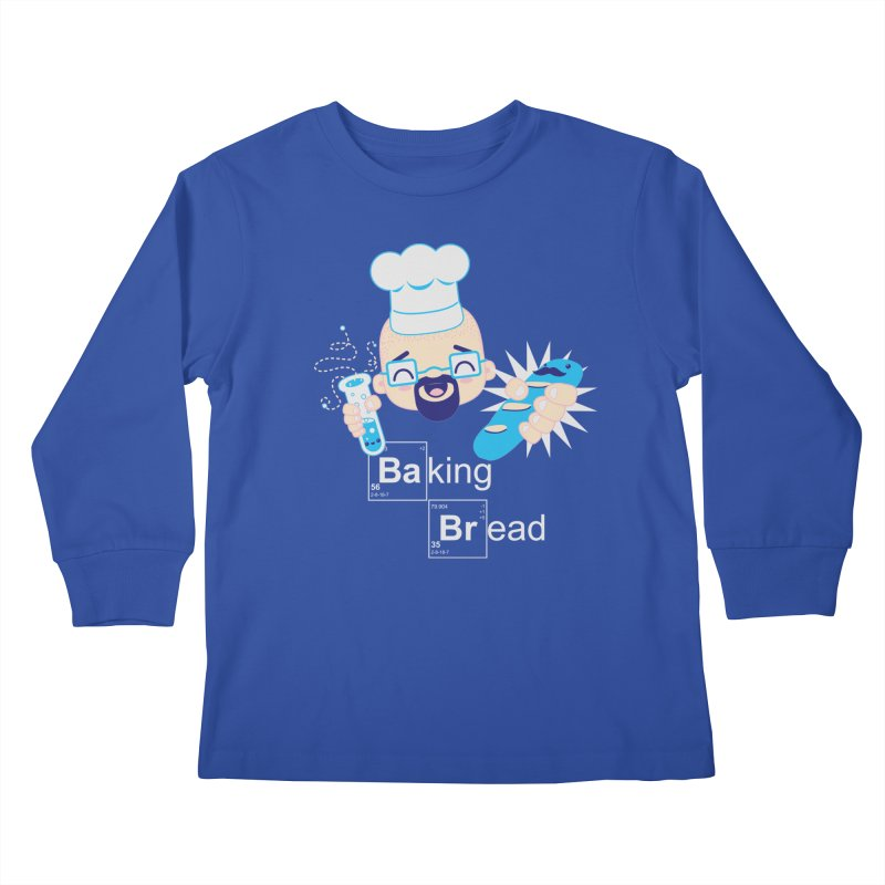 Baking Bread Kids Longsleeve T-Shirt by darkchoocoolat's Artist Shop