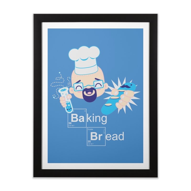 Baking Bread Home Framed Fine Art Print by darkchoocoolat's Artist Shop