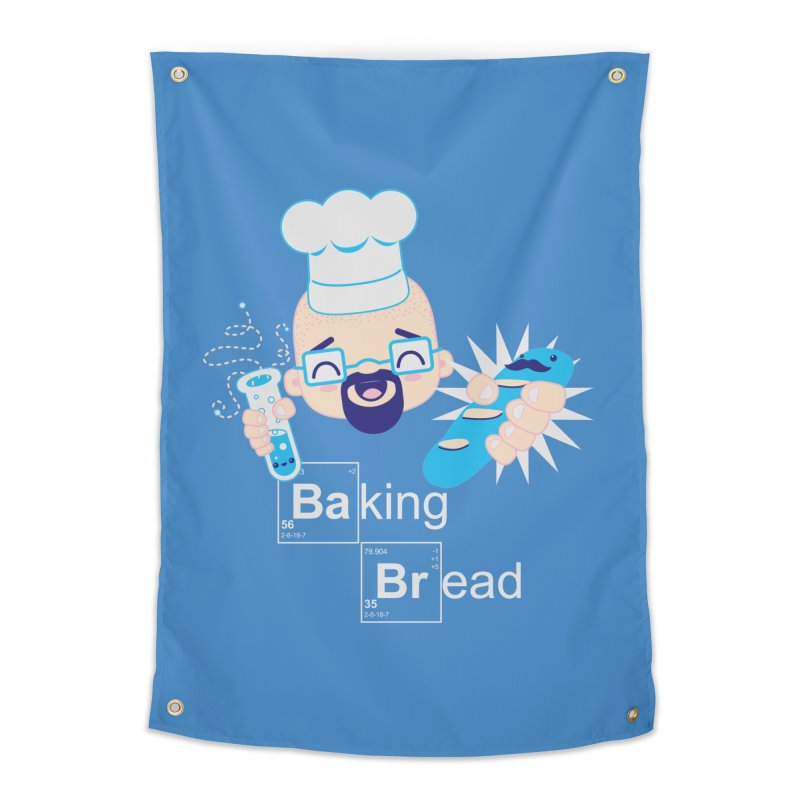 Baking Bread Home Tapestry by darkchoocoolat's Artist Shop