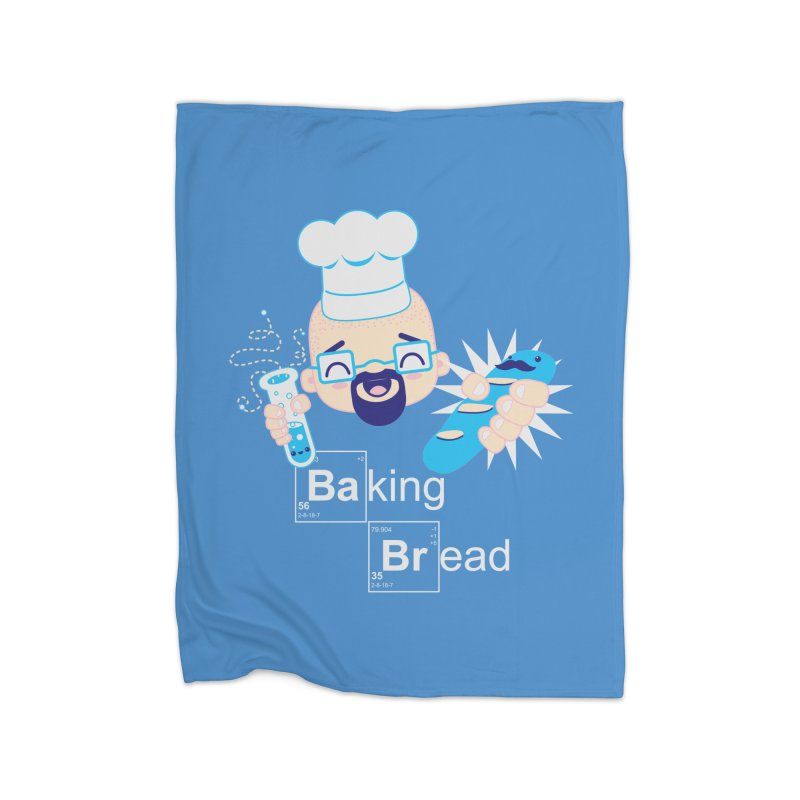 Baking Bread Home Fleece Blanket Blanket by darkchoocoolat's Artist Shop