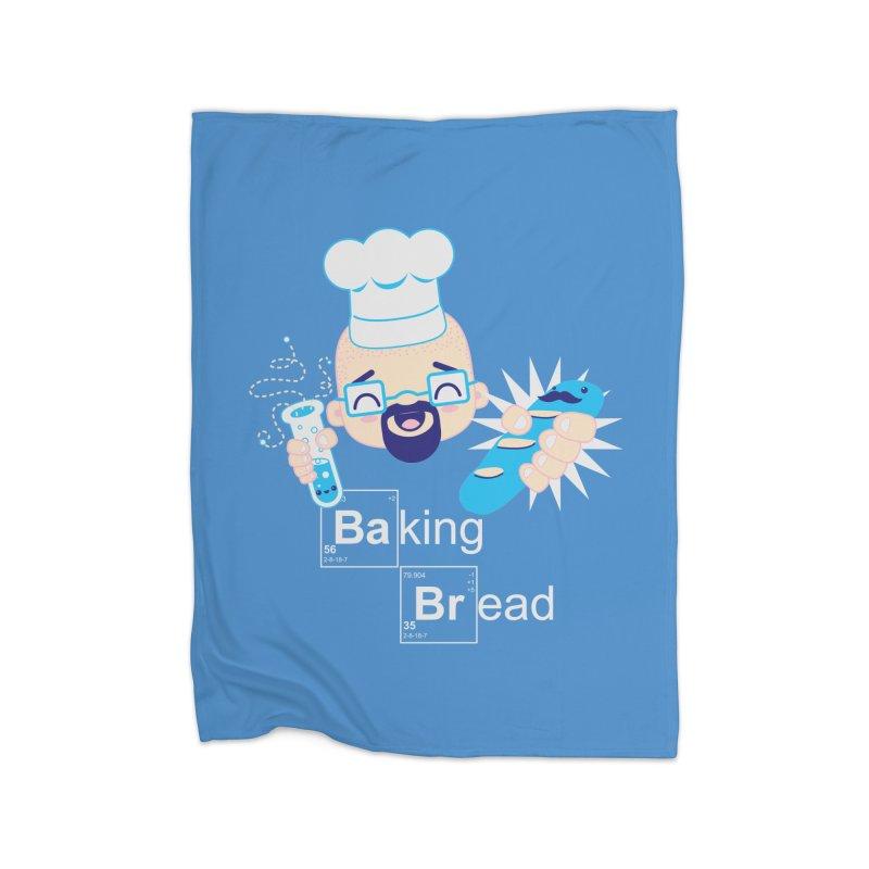 Baking Bread Home Blanket by darkchoocoolat's Artist Shop