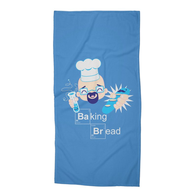 Baking Bread Accessories Beach Towel by darkchoocoolat's Artist Shop