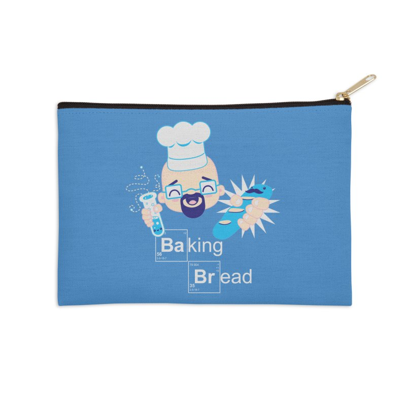 Baking Bread Accessories Zip Pouch by darkchoocoolat's Artist Shop