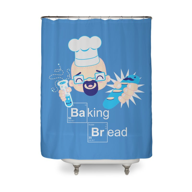 Baking Bread Home Shower Curtain by darkchoocoolat's Artist Shop