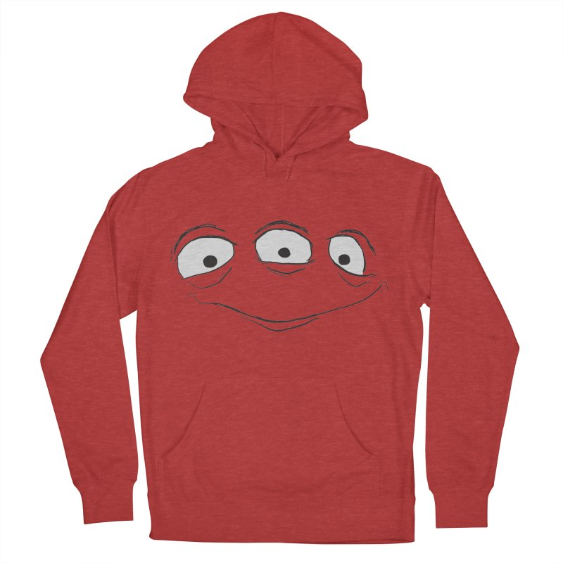 3 Eyes Women's French Terry Pullover Hoody by darkchoocoolat's Artist Shop