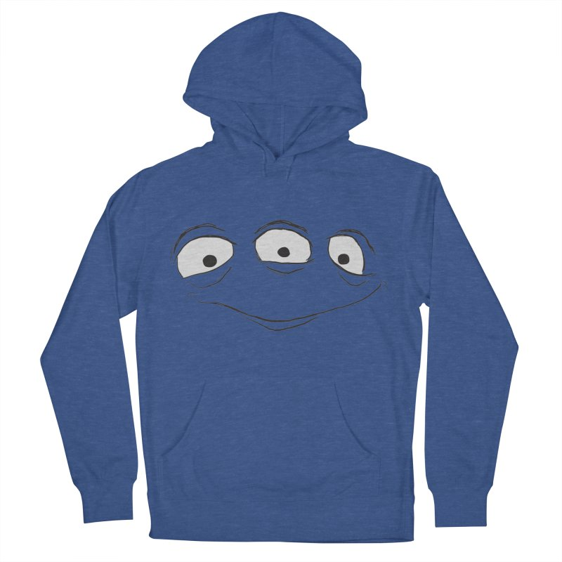 3 Eyes Men's French Terry Pullover Hoody by darkchoocoolat's Artist Shop