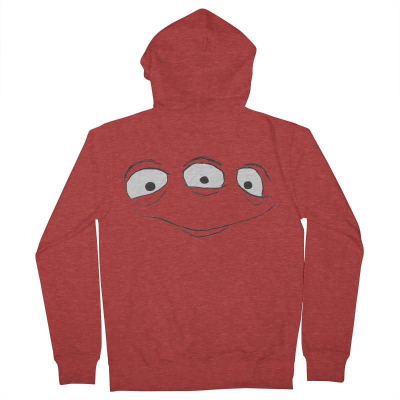 3 Eyes Men's Zip-Up Hoody by darkchoocoolat's Artist Shop