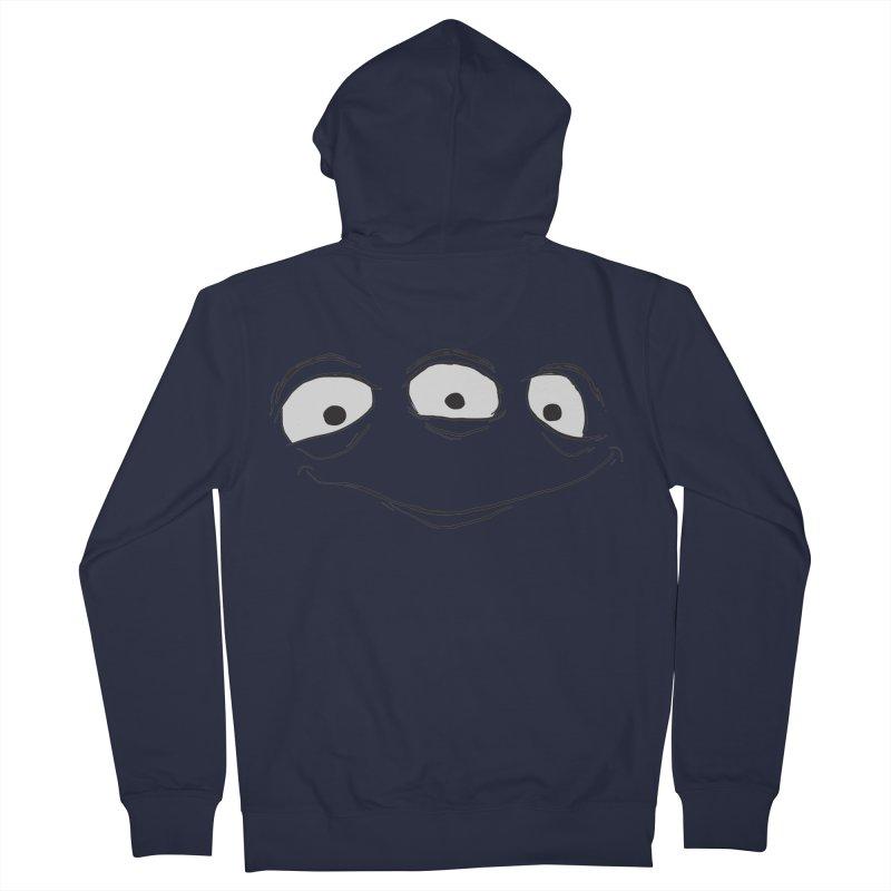 3 Eyes Men's Zip-Up Hoody by darkchoocoolat's Artist Shop