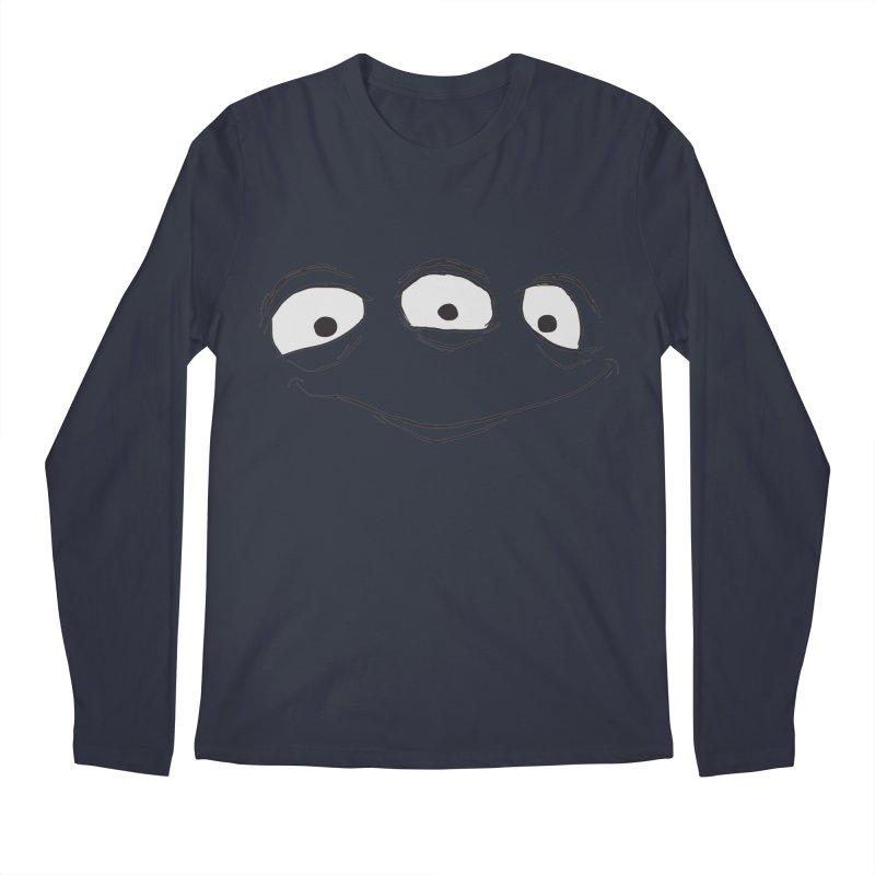 3 Eyes Men's Longsleeve T-Shirt by darkchoocoolat's Artist Shop