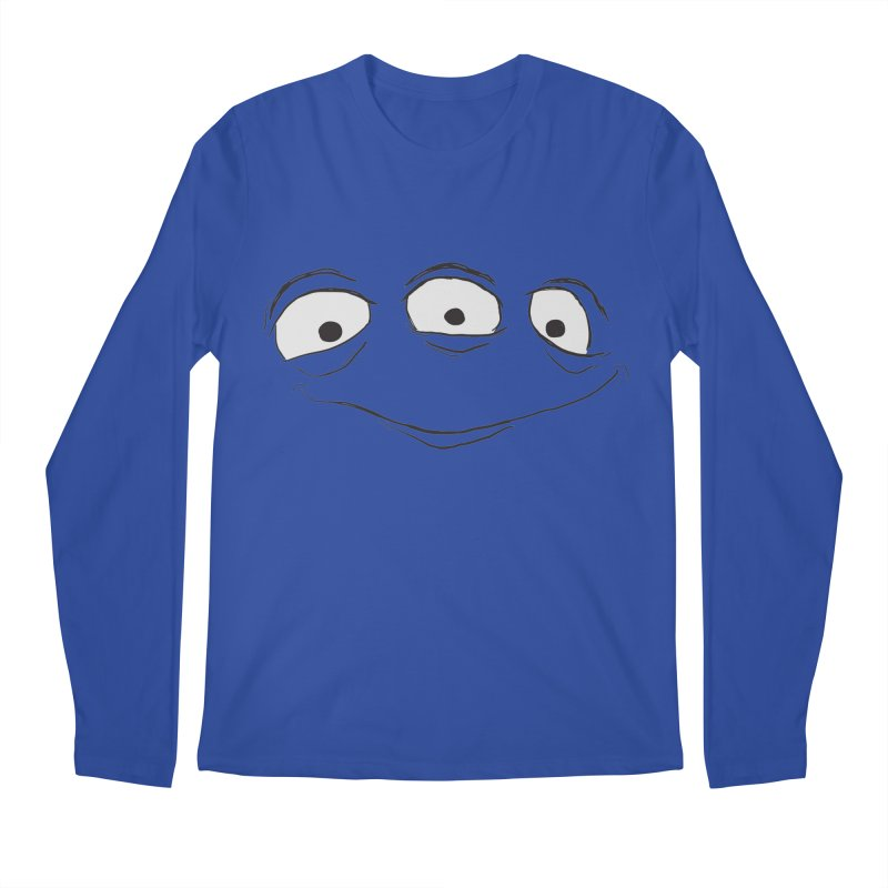 3 Eyes Men's Longsleeve T-Shirt by darkchoocoolat's Artist Shop