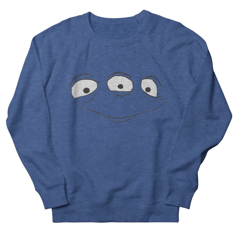 3 Eyes Men's French Terry Sweatshirt by darkchoocoolat's Artist Shop