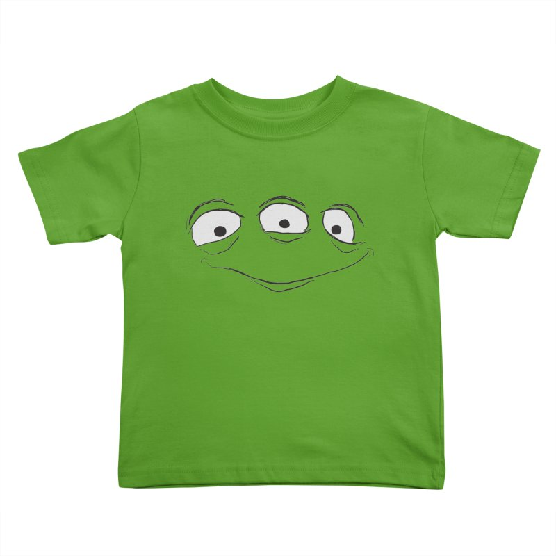 3 Eyes Kids Toddler T-Shirt by darkchoocoolat's Artist Shop