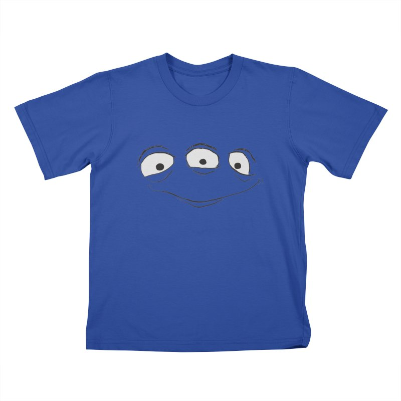 3 Eyes Kids T-Shirt by darkchoocoolat's Artist Shop
