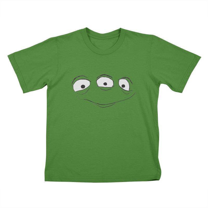 3 Eyes Kids T-Shirt by darkchoocoolat's Artist Shop