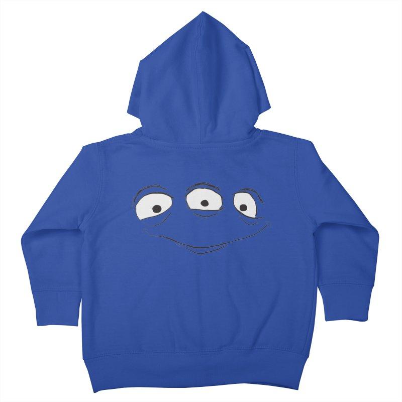 3 Eyes Kids Toddler Zip-Up Hoody by darkchoocoolat's Artist Shop