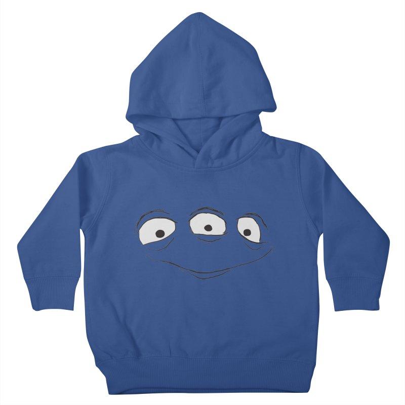 3 Eyes Kids Toddler Pullover Hoody by darkchoocoolat's Artist Shop