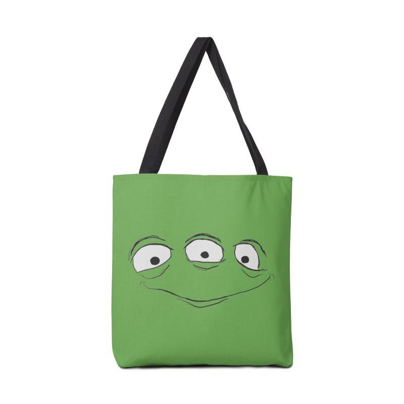 3 Eyes Accessories Tote Bag Bag by darkchoocoolat's Artist Shop