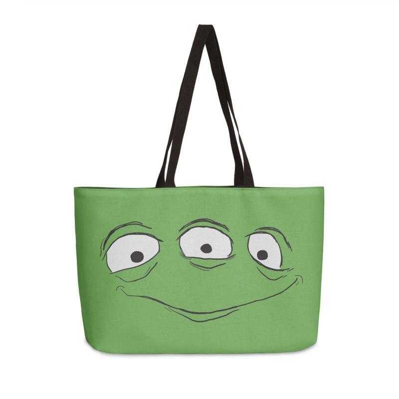 3 Eyes Accessories Weekender Bag Bag by darkchoocoolat's Artist Shop
