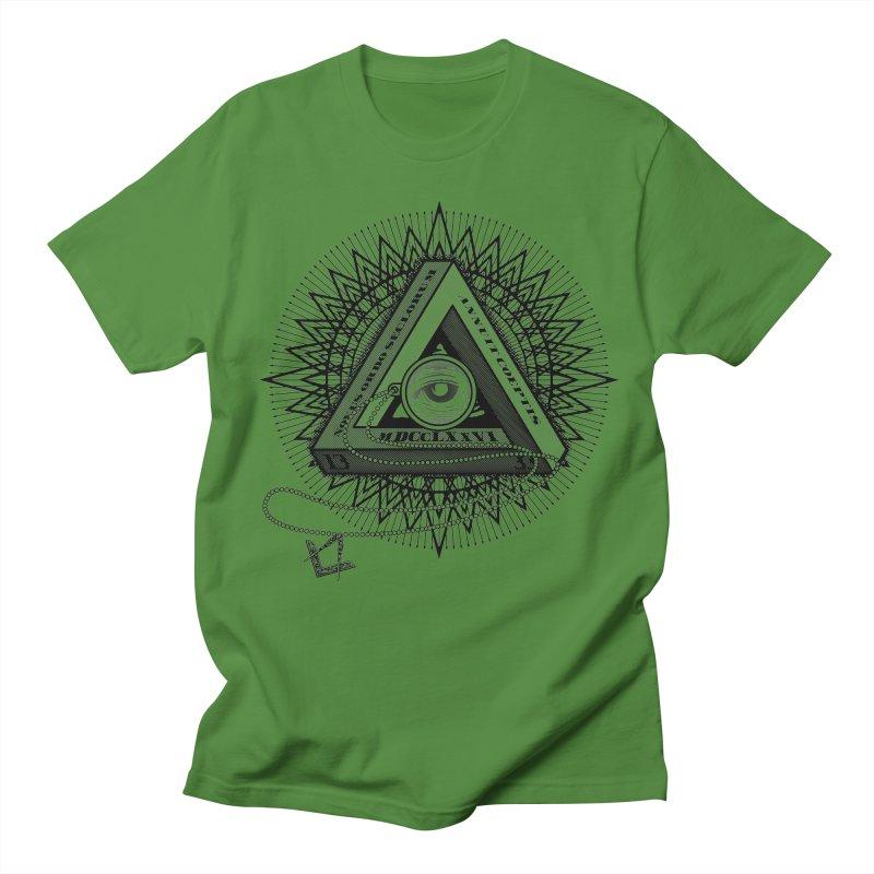 All Seeing Eye Black Women's Unisex T-Shirt by darkchoocoolat's Artist Shop