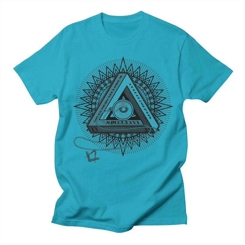 All Seeing Eye Black Women's Unisex T-Shirt by darkchoocoolat's Artist Shop