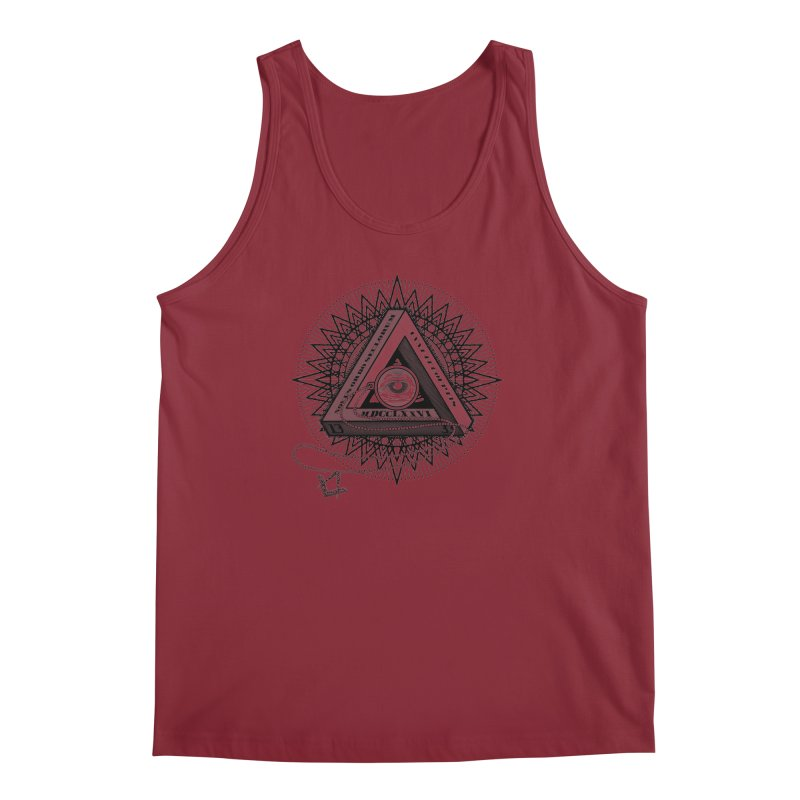 All Seeing Eye Black Men's Tank by darkchoocoolat's Artist Shop
