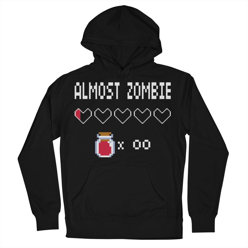 Almost Zombie Women's Pullover Hoody by darkchoocoolat's Artist Shop