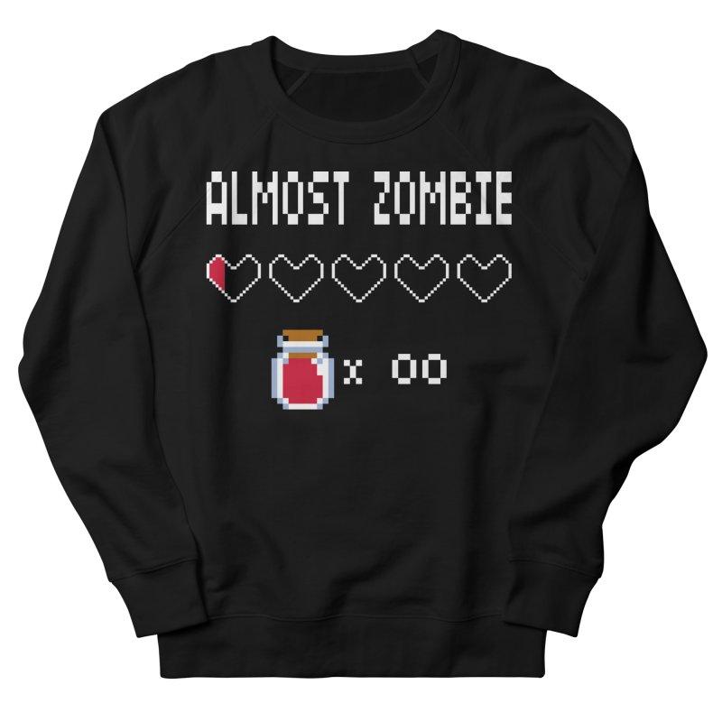 Almost Zombie Men's Sweatshirt by darkchoocoolat's Artist Shop