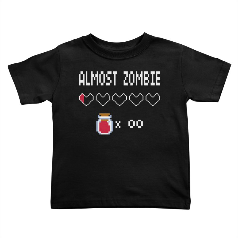 Almost Zombie Kids Toddler T-Shirt by darkchoocoolat's Artist Shop