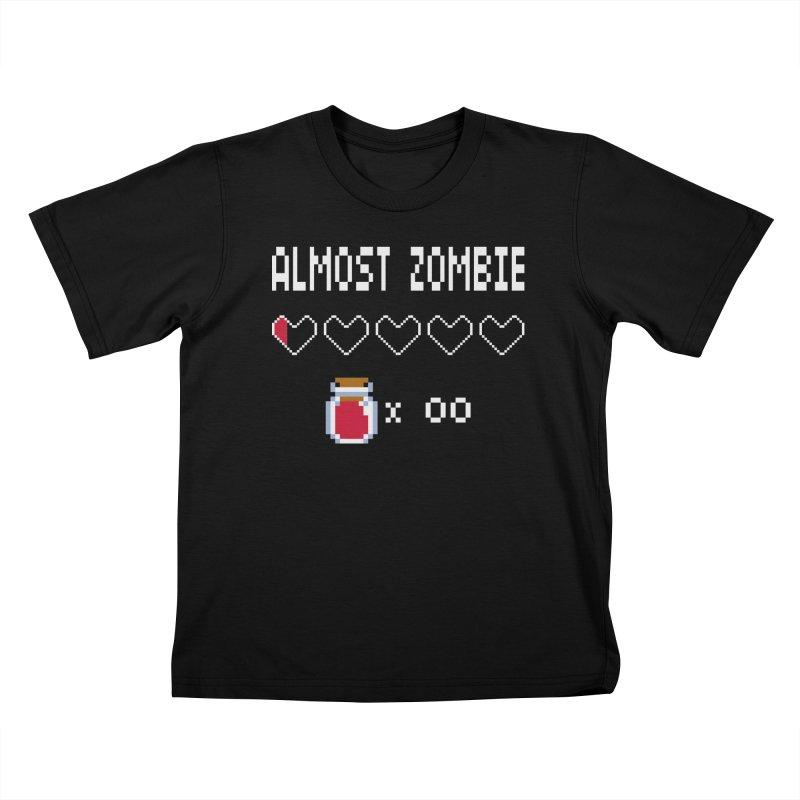 Almost Zombie Kids Toddler T-Shirt by darkchoocoolat's Artist Shop