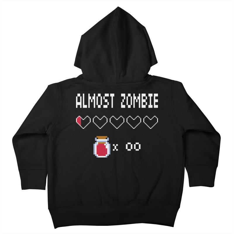 Almost Zombie Kids Toddler Zip-Up Hoody by darkchoocoolat's Artist Shop