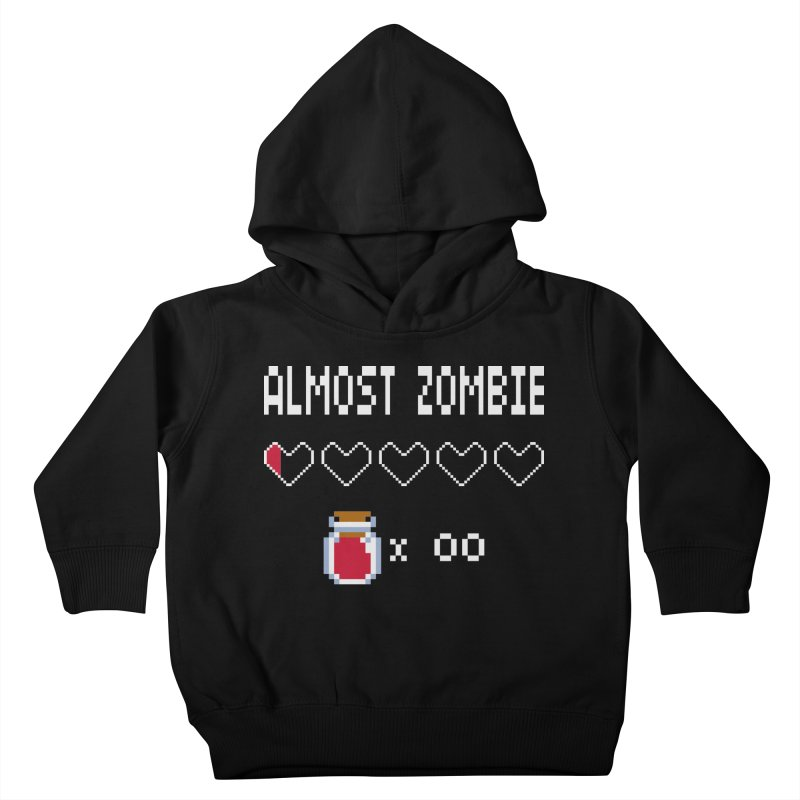 Almost Zombie Kids Toddler Pullover Hoody by darkchoocoolat's Artist Shop