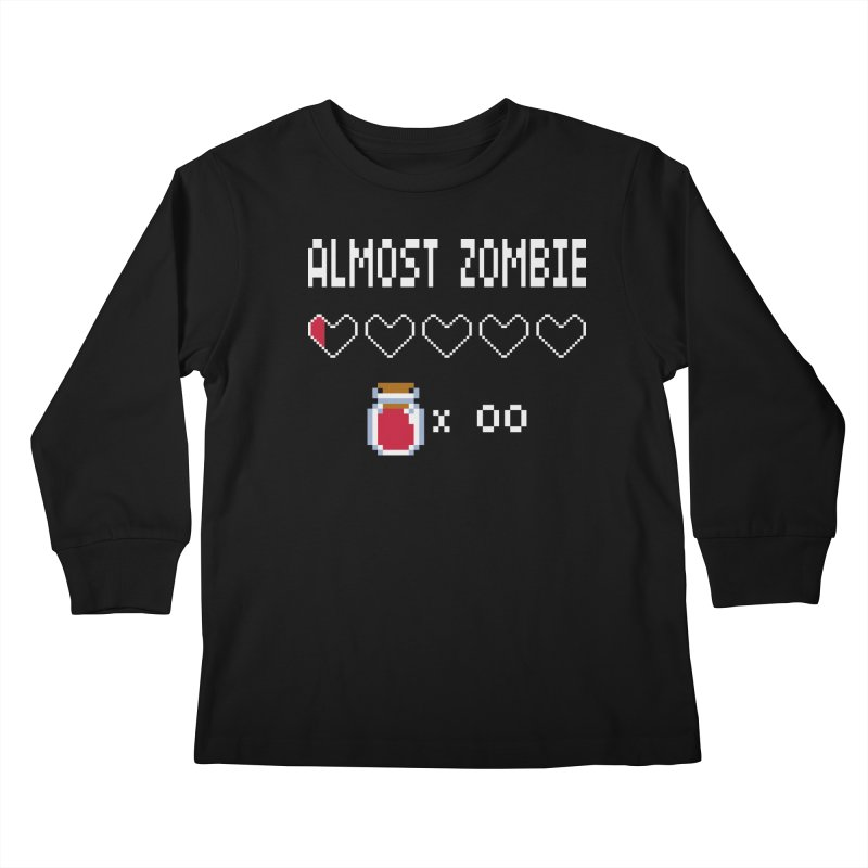 Almost Zombie Kids Longsleeve T-Shirt by darkchoocoolat's Artist Shop
