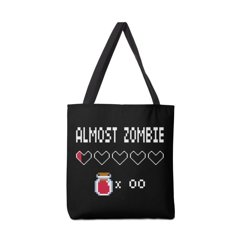 Almost Zombie Accessories Tote Bag Bag by darkchoocoolat's Artist Shop