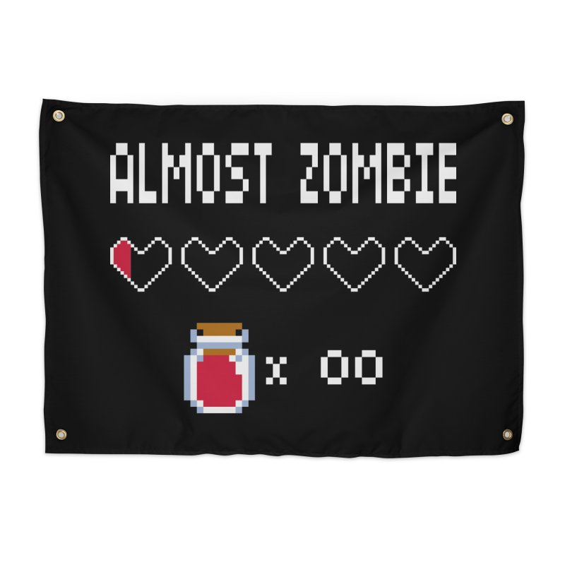 Almost Zombie Home Tapestry by darkchoocoolat's Artist Shop