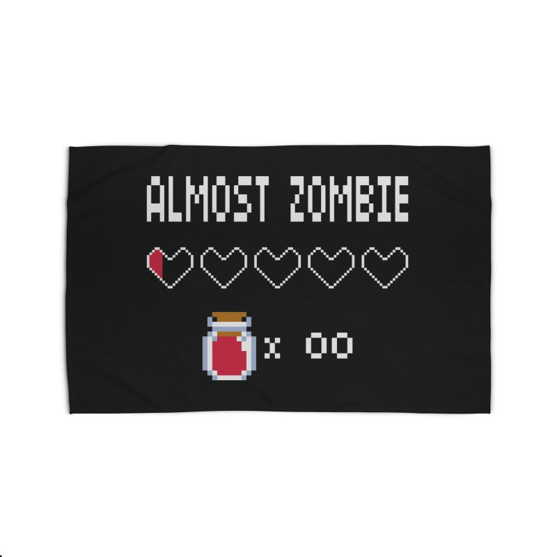 Almost Zombie Home Rug by darkchoocoolat's Artist Shop