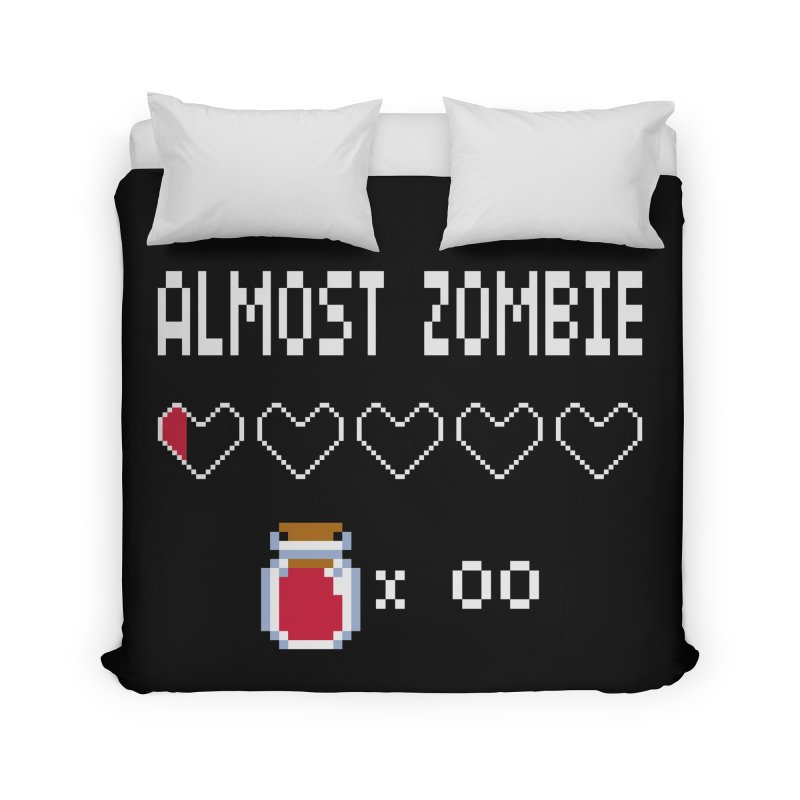 Almost Zombie Home Duvet by darkchoocoolat's Artist Shop