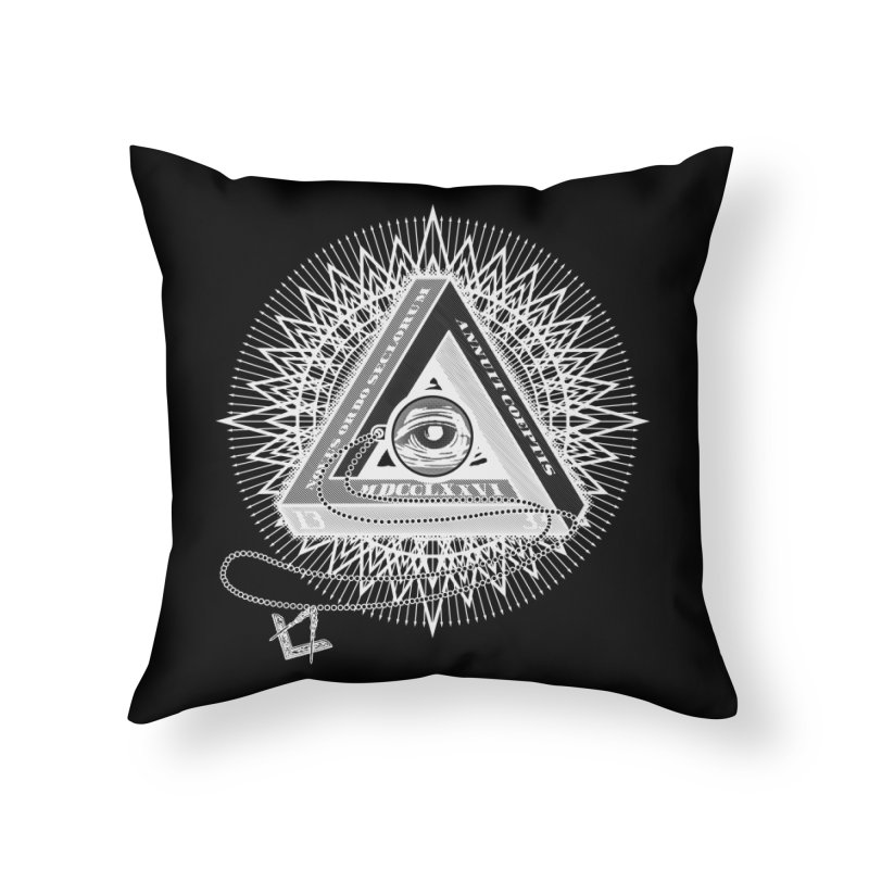 All Seeing Eye Clear Home Throw Pillow by darkchoocoolat's Artist Shop