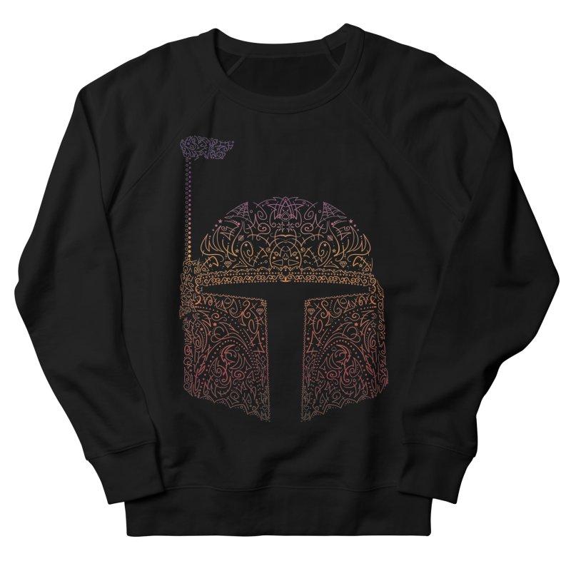 Bobba Neon Fett Men's French Terry Sweatshirt by darkchoocoolat's Artist Shop