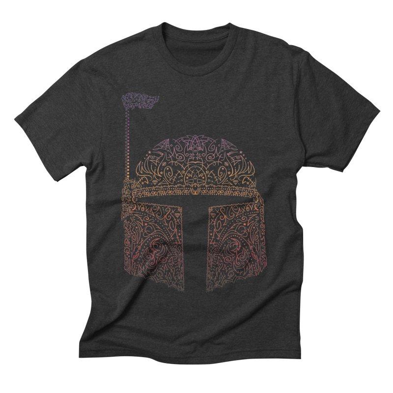 Bobba Neon Fett Men's Triblend T-Shirt by darkchoocoolat's Artist Shop