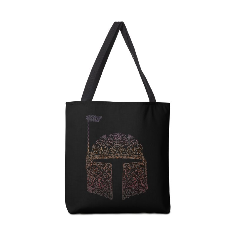 Bobba Neon Fett Accessories Tote Bag Bag by darkchoocoolat's Artist Shop