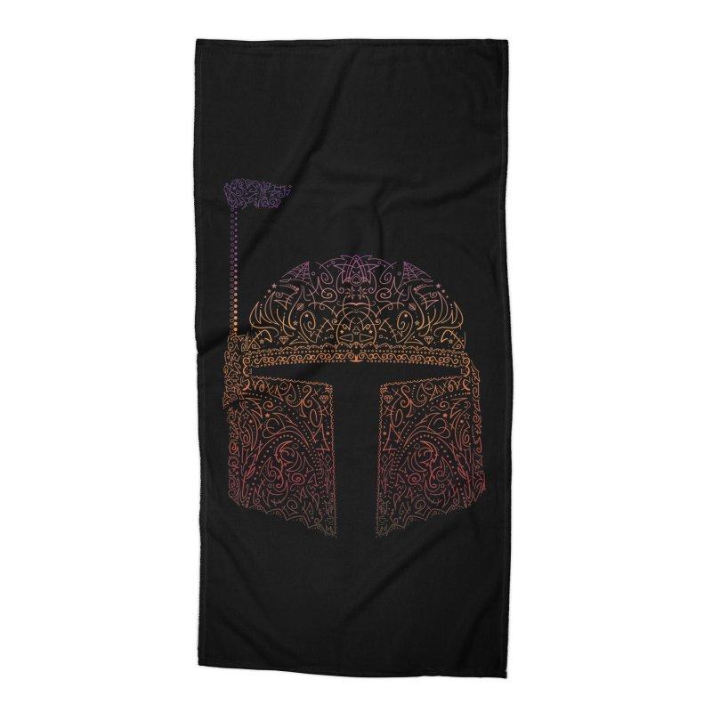 Bobba Neon Fett Accessories Beach Towel by darkchoocoolat's Artist Shop