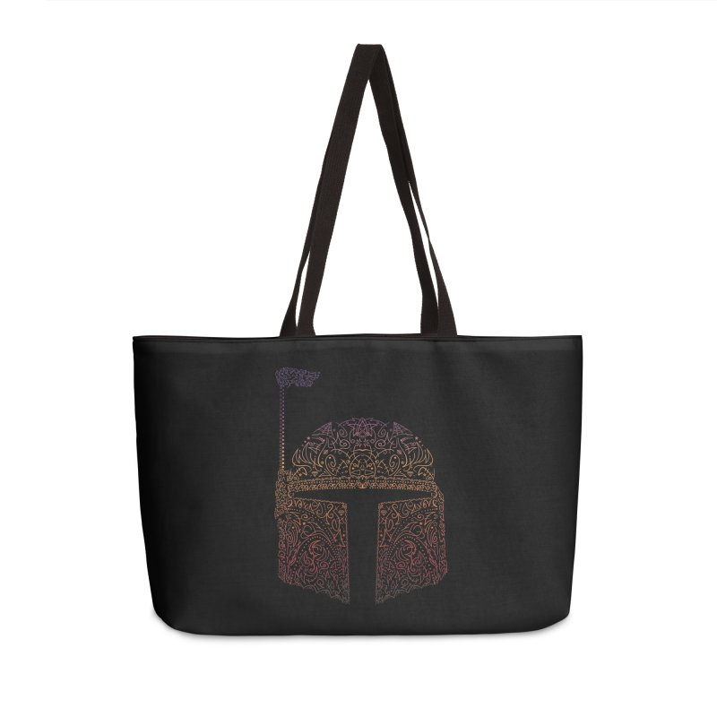 Bobba Neon Fett Accessories Weekender Bag Bag by darkchoocoolat's Artist Shop