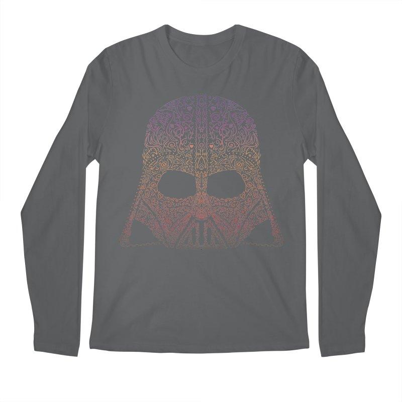 DarthNeonVader Men's Regular Longsleeve T-Shirt by darkchoocoolat's Artist Shop
