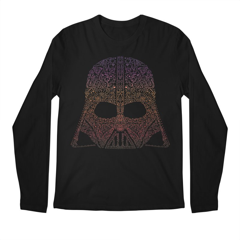 DarthNeonVader Men's Longsleeve T-Shirt by darkchoocoolat's Artist Shop