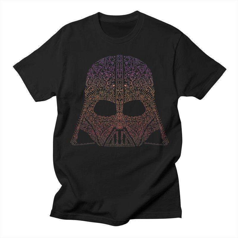 DarthNeonVader Men's T-shirt by darkchoocoolat's Artist Shop