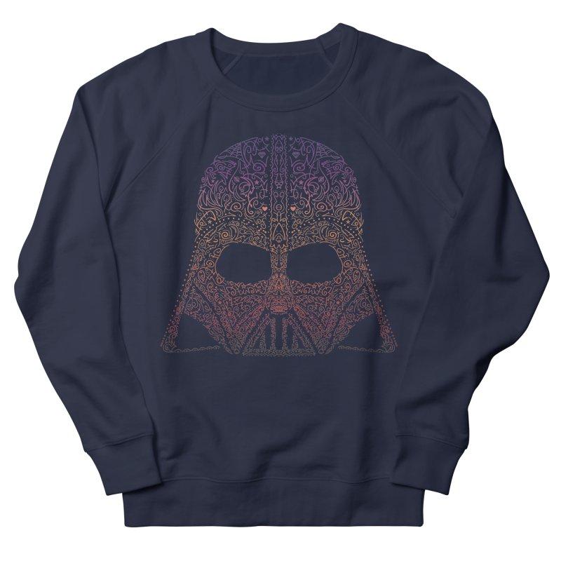 DarthNeonVader Men's French Terry Sweatshirt by darkchoocoolat's Artist Shop