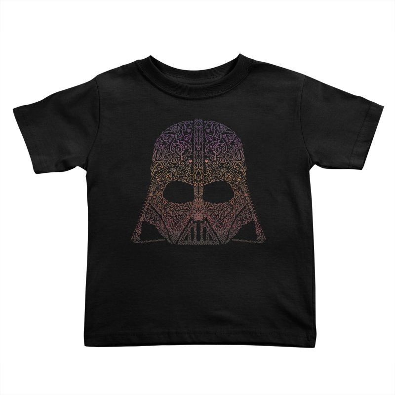 DarthNeonVader Kids Toddler T-Shirt by darkchoocoolat's Artist Shop